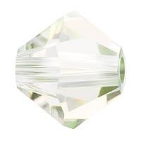 Кришталеві біконуси Crystal з покриттям Preciosa (Чехія) 3 мм, Crystal Viridian