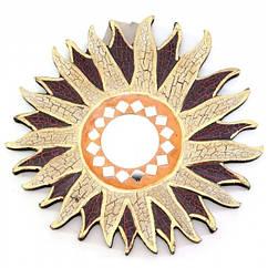 Дзеркало мозаїчне Arjuna Сонце d-20 см 30287 Різнобарвний 45517 ZZ, КОД: 1258503
