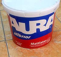 Высококачественная водно-дисперсионная краска для потолков и стен   Mattlatex AURA  (5 л/ 7,4 кг), фото 1