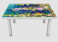 Наклейка на стол Zatarga Цветы акварель 600х1200 мм Z180229 MD, КОД: 1804668