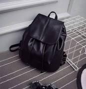Стильный черный рюкзачек, фото 1
