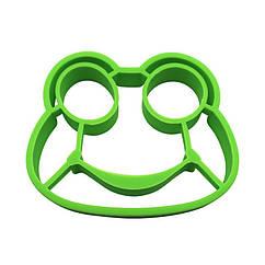 Силиконовая форма для жарки яиц CUMENSS Зеленый 5677-19073 ZZ, КОД: 2563569