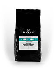 Кофе в зернах Black Cat Green 50 Арабики 50 Робуста 250г ZZ, КОД: 2594088