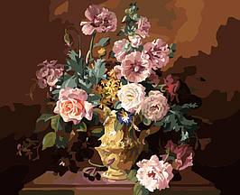 Картина по номерам MG319 Цветы весны 40х50