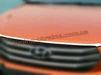 Хром капота для Hyundai Creta IX25 2015+