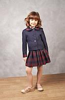 """Юбка школьная """"Татьянка"""" синяя, юбка классическая для девочки, школьная форма, юбка в школу, юбка синяя"""