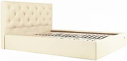 Кровать Richman Бристоль 120 х 190 см Флай 2207 С подъемным механизмом и нишей для белья Беже ZZ, КОД: 2502436
