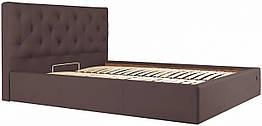Кровать Richman Бристоль 120 х 200 см Флай 2231 Темно-коричневая ZZ, КОД: 2502933