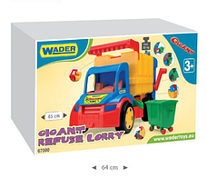 Игрушечная машинка Мусоровоз из серии Gigant Wader 67000 , фото 3