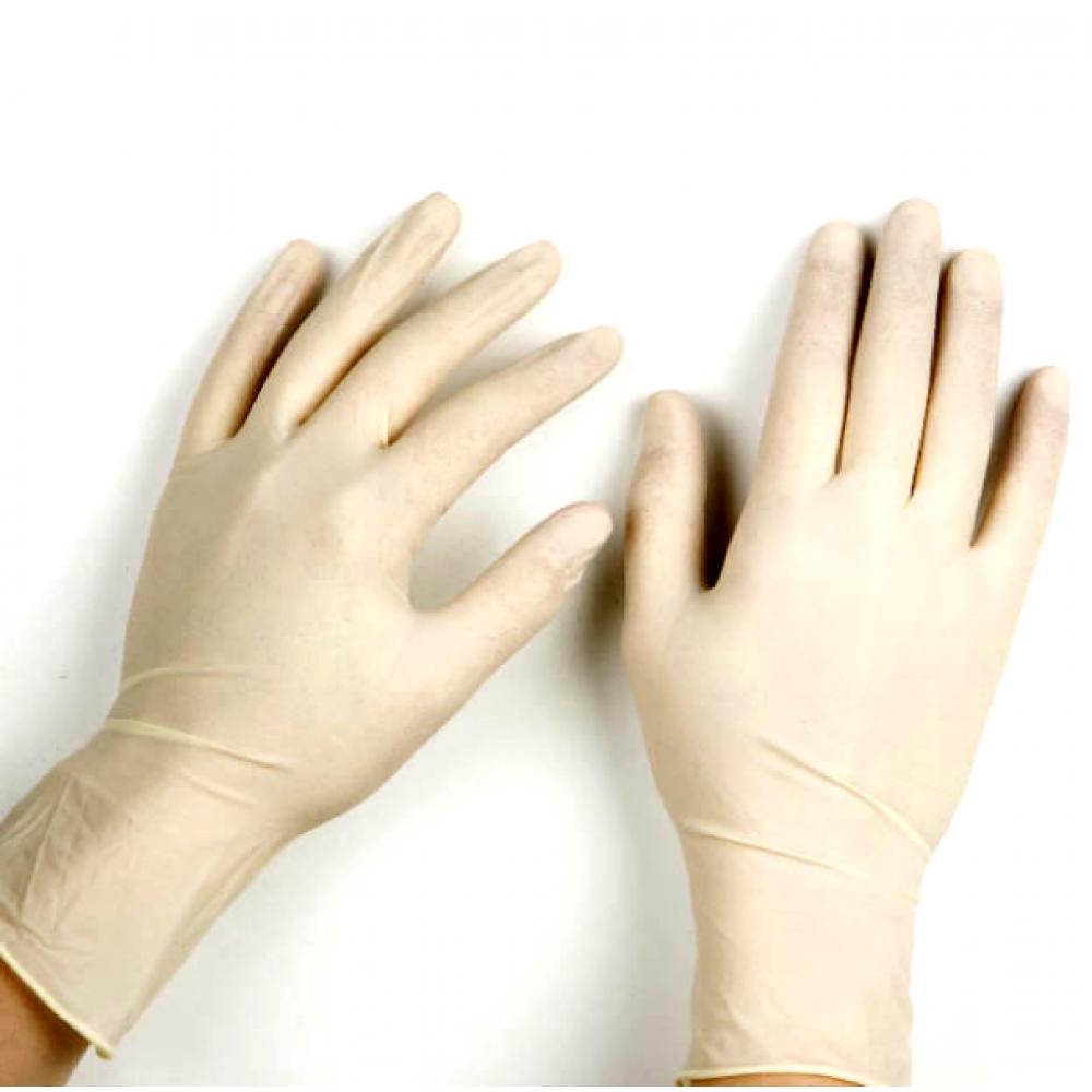 Перчатки латексные, неопудренные SafeTouch NaviStom