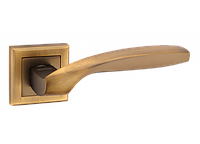 "Дверная ручка на розетке MVM ""TEZA"" Z-1325 MACC (матовая бронза)"