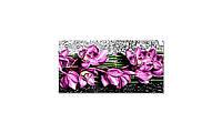 Наклейка виниловая на стол Zatarga Фиолетовые Орхидеи 600х1200 мм Z181321st GL, КОД: 2386438