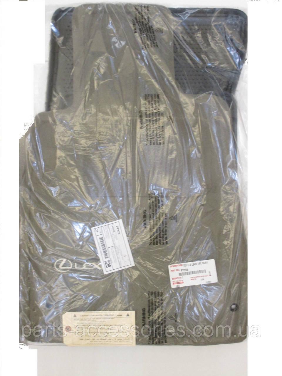 Lexus LS400 рестайлінг 1997-2000 велюрові килимки передні задні слонова кістка нові оригінальні