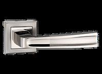 Дверная ручка на розетке MVM Z-1355 BN/SBN (черный никель/матовый черный никель)