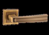 Дверная ручка на розетке MVM Z-1355 MACC (матовая бронза)