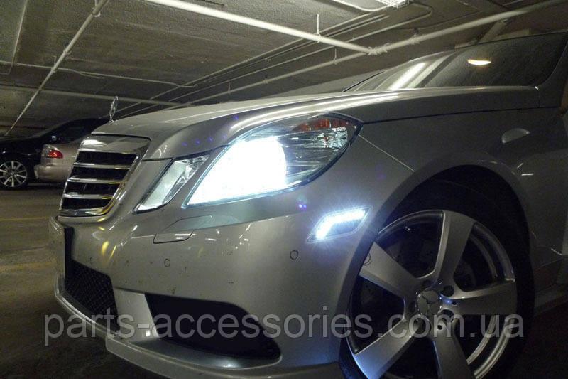 Mercedes E Class W212 2009-2012 LED діодні поворотники повторювачі повороту в США нові бампер