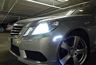 Mercedes E Class W212 2009-2012 LED диодные поворотники повторители поворота в бампер США новые