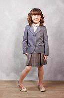 Юбка школьная серая, юбка классическая для девочки, школьная форма, юбка в школу, юбка