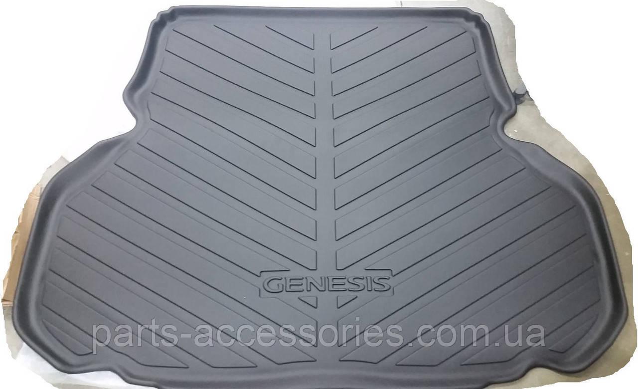 Седан Hyundai Genesis 2008-2014 килимок в багажник новий оригінальний