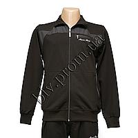 Трикотажный мужской спортивный костюм пр-во Турция оптом и мелким оптом FM14650 Black