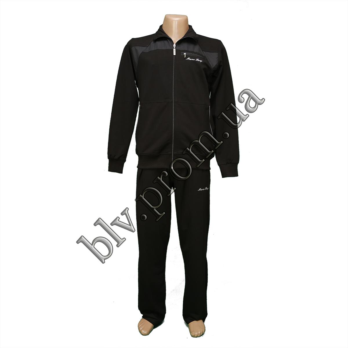 94dad6a0c2f2 Трикотажный мужской спортивный костюм пр-во Турция оптом и мелким оптом  FM14650 Black