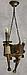 Деревянная люстра, фото 4