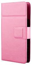 """Универсальный чехол-книжка Vellini Smart Book 4.2""""-4.8"""" Pink (215389)"""