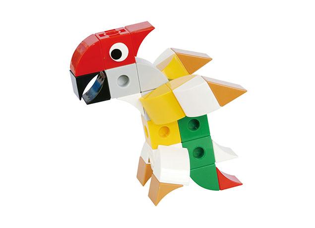 Конструктор Gigo В мире животных. Попугай