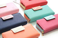 Клач-портмане женское в разных цветах