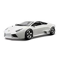 Автомодель Lamborghini Reventon матовый белый, серый металлик 1:24