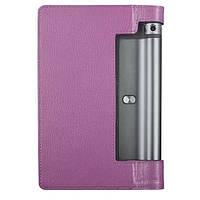 Кожаный чехол для Lenovo Yoga Tablet 3-850F фиолетовый