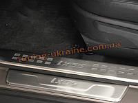 Накладки на пороги внутренние для Hyundai IX35 2010-13