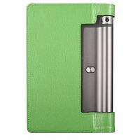 Кожаный чехол для Lenovo Yoga Tablet 3-850F зелёный