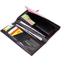 Жіночий місткий гаманець GRANDE PELLE 11368 Червоний, фото 3