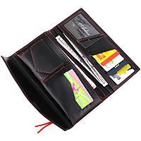 Жіночий місткий гаманець GRANDE PELLE 11368 Червоний, фото 4