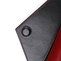 Жіночий місткий гаманець GRANDE PELLE 11368 Червоний, фото 6