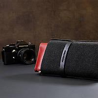 Жіночий місткий гаманець GRANDE PELLE 11368 Червоний, фото 10