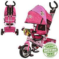 Велосипед Маша и Медведь ММ 0156 трехколесный колеса пена  детский Winx
