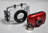 Экшн спорт камера - видеорегистратор, HD 720p. ударостойкая, водонепроницаемая экшн камера. Код: КЕ411