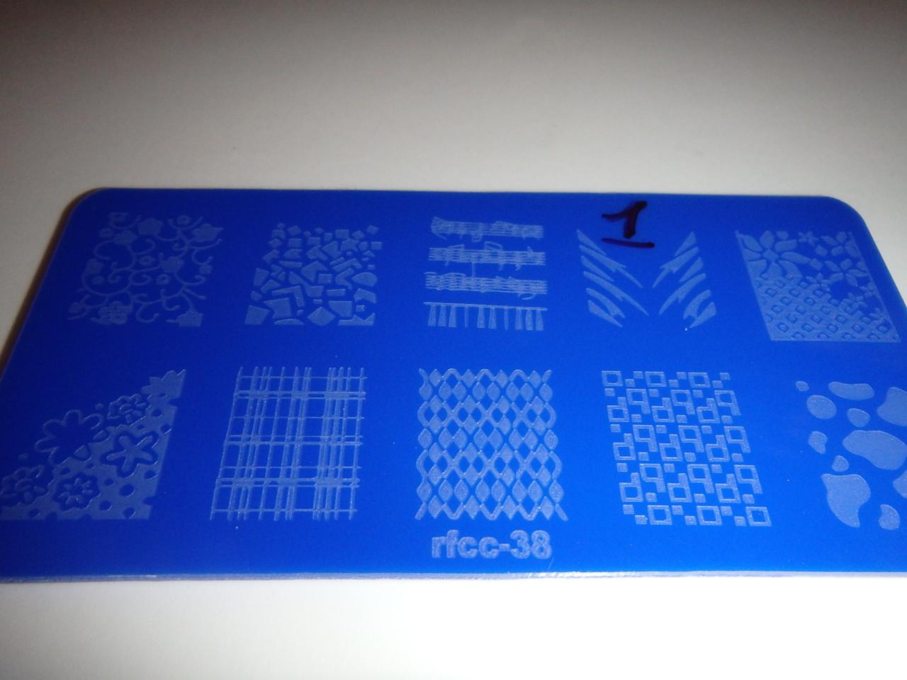 Планшет для стейпинга для дизайна ногтей