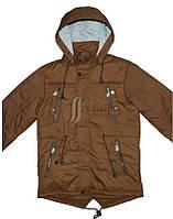 Куртка-парка подростковая для мальчика, демисезонная