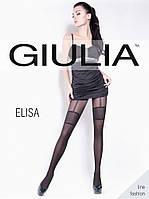 Колготки Giulia с эффектом чулка ELISA 40 (model 2)