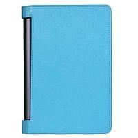 Кожаный чехол для Lenovo Yoga Tablet 3 Pro 10 голубой