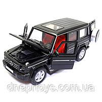 Игрушечная машинка металлическая «Mercedes-Benz G 350 d» Автопром Гелендваген, черный, 14*6*5 см, (68436), фото 5