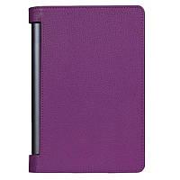 Кожаный чехол для Lenovo Yoga Tablet 3 Pro 10 фиолетовый