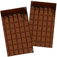Візитниця плитка шоколаду