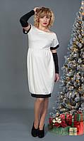 Стильное женское платье со съемными рукавами, фото 1
