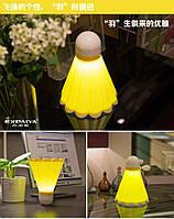 Волан - бадминтон - светильник, фото 1