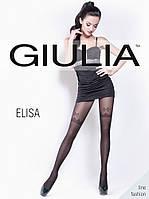 Женские колготки в мелкую сетку с рисунком TM GIULIA