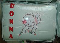 """Фирменный комплект постельного белья с балдахином. Вышивка """"Малышка"""""""